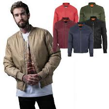 <b>Urban Classic</b> Mens Bomber Jacket Jackets