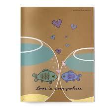 <b>Тетрадь</b> B5 60л кл Bruno Visconti Fish <b>love</b>. FISH <b>LOVE</b>. Bruno ...