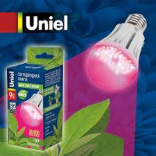 Отзыв о Светодиодная <b>лампа Uniel LED</b> для растений | Не ...
