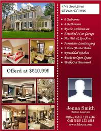 real estate flyers  flyer flyer templates flyer many pictures and seller info