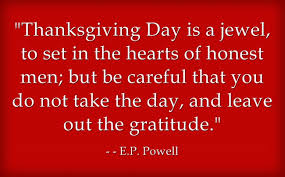20 Insightful Thanksgiving Day Quotes