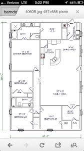 ideas about Shop House Plans on Pinterest   Morton Building    Barn House   workable floor plan   Add huge garage shop to end