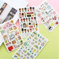 Online Shop <b>6PCS</b>/ <b>Set</b> Mini <b>Cute Kawaii</b> Cartoon Plant Notepad ...