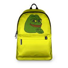 <b>Рюкзак 3D Лягушонок</b> Пепе #3262181 – <b>рюкзаки</b> с принтами в ...