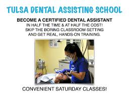 start your career in dental assisting perfect smile tulsa dental school