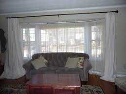 curtain rod bay bay window curtain rail ideas window covering for bay window ideas