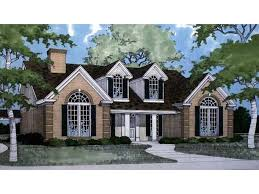 Country House Plan   Square Feet and Bedrooms from Dream    Front