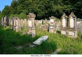 France Haut Rhin Sundgau Durmenach the Jewish cemetery dating back to        Stock Image