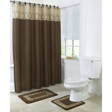 shower bathroom sets vcny home lily butterfly  piece polyester bath in a bag set shower cur