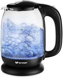 Купить <b>Чайник электрический KITFORT КТ-625-5</b>, черный и ...