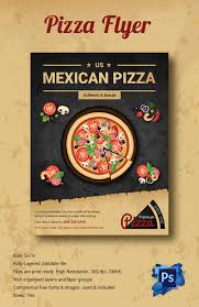 pizza flyers 37 psd ai vector eps format mexican pizza flyer template