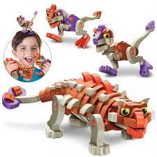 <b>Мягкий конструктор</b> из EVA <b>Soft Blocks</b> *Анкилозавр и малыши ...