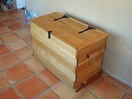 Pranzo Carpentry Storage Chest Solid White Oak ... - Amazon.com