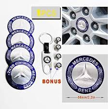 <b>4PCS</b> Blue USA Aluminum <b>Alloy Car auto</b> truck <b>Wheel</b> Center Hub ...