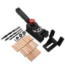 <b>38pcs</b>/Kit DIY <b>Woodworking Locator</b> Pocket Hole Cutter <b>Drill</b> Guide ...