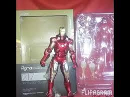 belajar nge review figma ironman mark7 bootleg by spiderholic bootleg iron man 2 starring