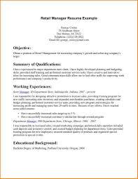 manager resume sample x    tomorrowworld cocv for sales and retail retail manager resume example   manager resume