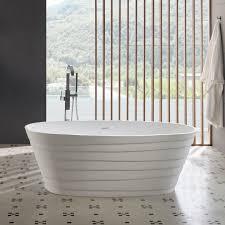 <b>Chic 180cm</b> - Freestanding Solid Surface Bathtub