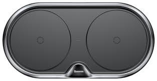 <b>Беспроводная</b> сетевая <b>зарядка Baseus</b> Dual <b>Wireless Charger</b> metal
