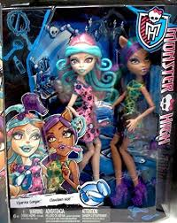 makeup tutorial for cosplay or you monster high scare and make up two pack featuring viperine gorgon and clawdeen wolf dolls monster