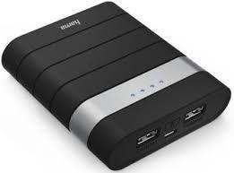 Портативное <b>зарядное устройство Hama Joy</b> 10400mAh Black ...