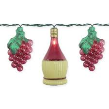 Sienna 9.7-Foot Grape and <b>Wine Bottle String</b> Light Set in Purple ...