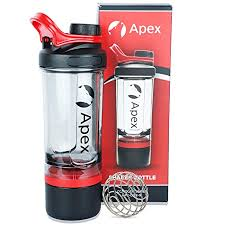 Apex <b>Shaker</b> Bottles for Protein <b>Shake BPA Free</b> 100% <b>Leak</b>-<b>Proof</b> ...