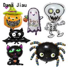 dana jiau <b>Halloween</b> party decoration foil balloon <b>pumpkin</b> green ...