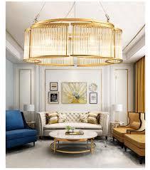 Italian Design <b>Nordic</b> Luxury <b>K9</b> Crystal Glass <b>Lampshade LED</b> ...