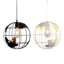Modern <b>Glass Lampshade Pendant Lights</b> Industrial Resin Pendant ...