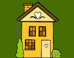 Resultado de imagen para casa dibujo