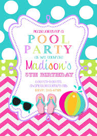 pool party invitations com pool party invitations some touches on your invitatios card to make it carry out fair invitation templates printable 8