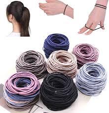 TEXXIS 100pcs Women Elastic Hair Rope Headwear ... - Amazon.com