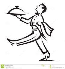 food servers clipart clipartfest of a food server dropping river lodging clipart