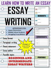 images about essay writing tips on pinterest   teaching    this resource includes everything you need to teach your students how to write an essay
