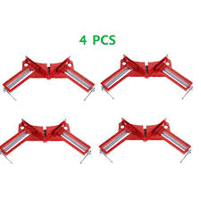<b>4 pcs 90 Degree Right</b> Angle Woodcraft Clips | Shopee Philippines
