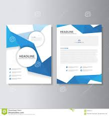 blue wave infographic elements icon presentation template flat blue polygon brochure flyer leaflet abstract layout template flat design set for marketing royalty stock