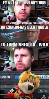 minnesota wild on Pinterest | NHL, Minnesota and Stanley Cup Playoffs via Relatably.com