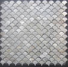 shell mosaic white mother aliexpresscom buy free shippingmother of pearl tilefan shaped shell mo