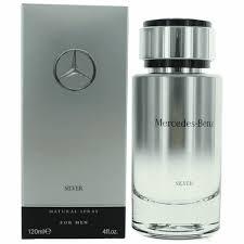 Authentic <b>Mercedes Benz Silver</b> Cologne By <b>Mercedes Benz</b>, 4 oz ...