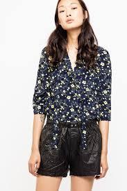 Touch Print <b>Flower Shirt</b> - shirt women's   Zadig&Voltaire