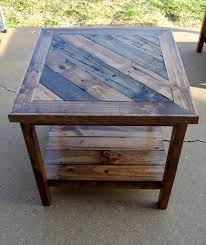 pallet square shape end table top 14 pallet furniture projects that inspired you 101 buy pallet furniture design plans