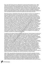 and metropolis comparative essay  year  hsc   english  metropolis essay