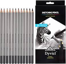 Professional Drawing Sketching Pencil Set - 12 ... - Amazon.com