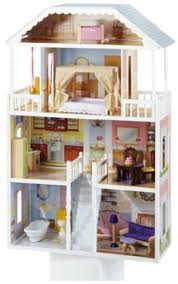 savannah dollhouse savannah dollhouse four levels and six rooms of open space and 13 pieces of colorful furniturewide windows allow dolls to be viewed amazoncom barbie size dollhouse