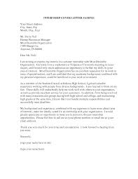 cover letter for internship cover letter templates gallery of cover letter for internship