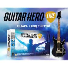 Игра для IPAD <b>Guitar Hero</b> Live Bundle. <b>Гитара</b> + код с игрой ...