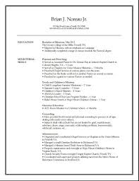 resume pastor resume sample pastor resume sample images full size