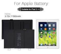 <b>YILIZOMANA</b> Original Tablet Battery for <b>iPad</b> 3/4 rd 11560mAh ...