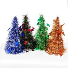 new 2512cm the plastic bubble silk mini tower christmas tree office and house desk christmas tree office desk